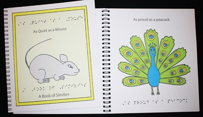 Braille Children's Book Quiet As A Mouse