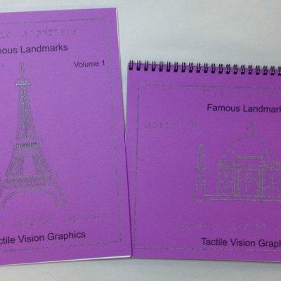 Braille Famous Landmarks Two-Volume Set