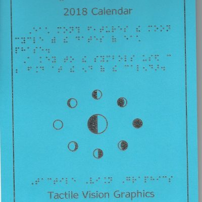 2018 Braille Calendar and Pocket calendar Bundle