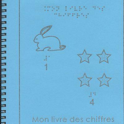 Livre en Braille Mon Livre Des Chiffres