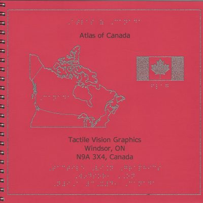 Braille and Tactile Atlas of Canada