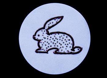 Fun Braille Activities Bunny Stickers