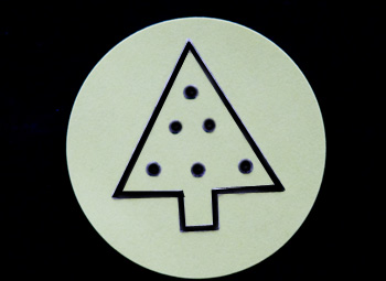 Fun Braille Activities Christmas Tree Stickers