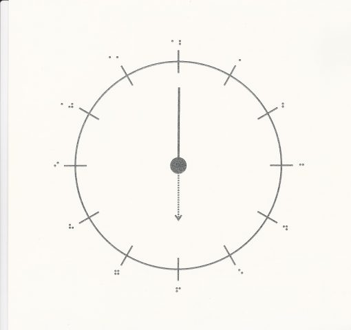 Fun Braille Activities Three Clock Diagrams