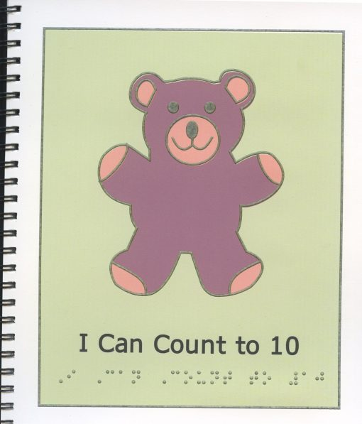 Braille Children's Book I Can Count To 10