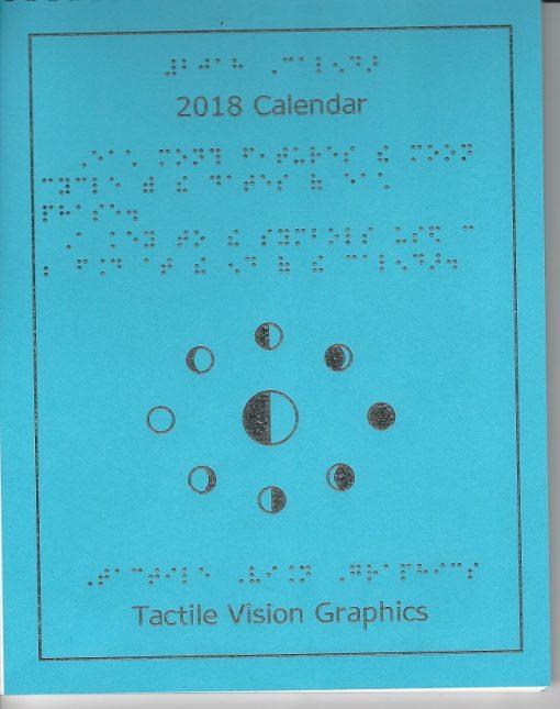 2018 Braille Calendar and Pocket calendar Bundle