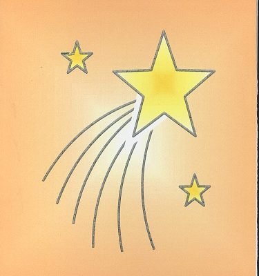 Braille and Tactile Greeting Card To Our Star