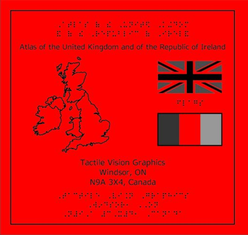 Braille Atlas of the UK and Ireland