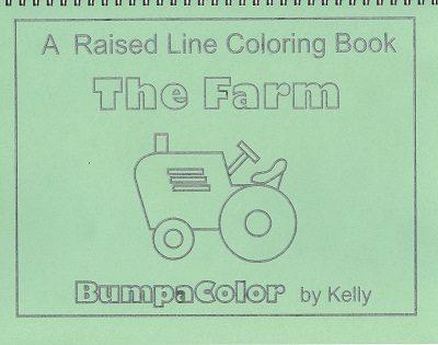 Braille colouring Book The Farm