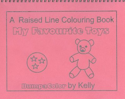 Braille Colouring Books